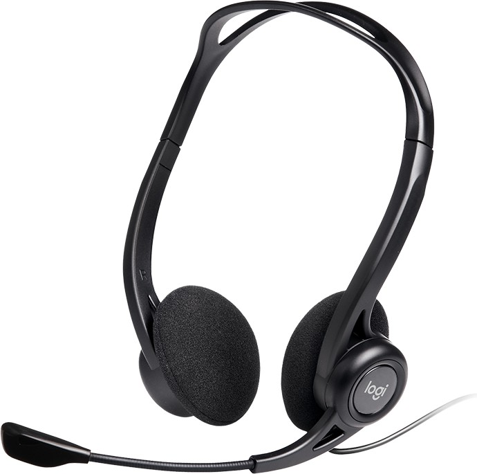 Logitech PC headset 960, USB (981-000100)