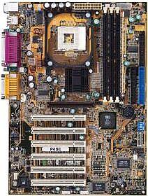 ASUS P4SE, SiS645 (PC-2700 DDR)