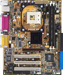 ASUS P4SDR-VM, SiS650GX (SDR)
