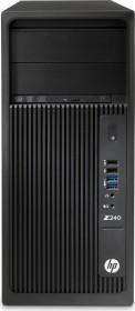 HP Workstation Z240 CMT, Core i7-7700, 16GB RAM, 1TB HDD, 256GB SSD, Windows 10 Pro (2WU15ES#ABD)