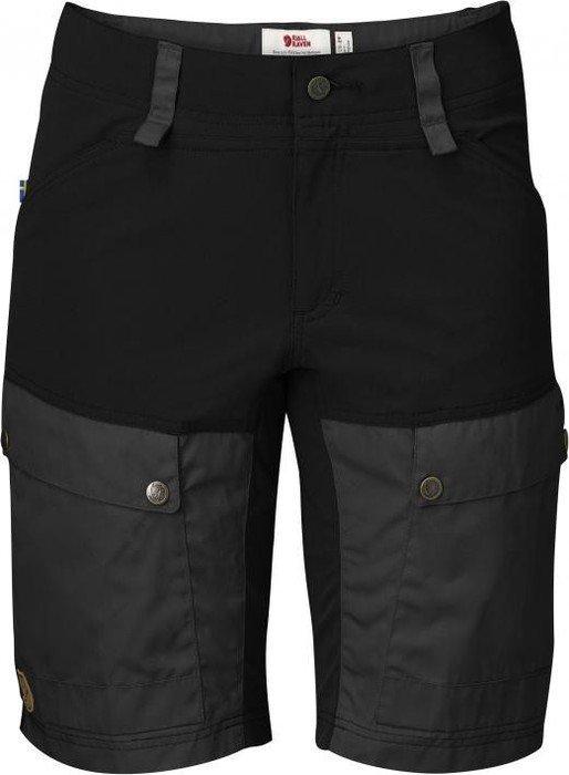 on wholesale hot sale online sleek Fjällräven Keb Shorts Hose kurz schwarz/dunkelgrau (Damen) (F89639-550-030)  ab € 92,25
