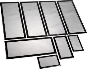 DEMCiflex Staubfilter Set für Lian Li PC-O11 Air, schwarz (DF0973)