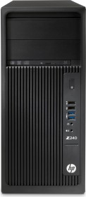 HP Workstation Z240 CMT, Core i5-7500, 8GB RAM, 1TB HDD, 256GB SSD, Windows 10 Pro (2WT99ES#ABD)