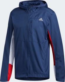 adidas Own The Run Hooded Laufjacke tech indigo/scarlet/white (Herren) (ED9291)