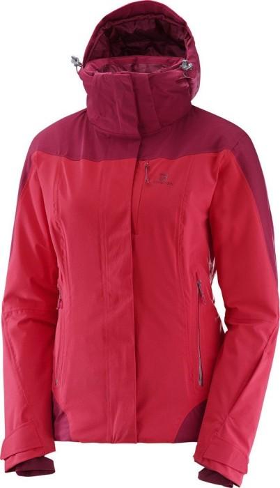 Salomon Icerocket Skijacke jalapeno redbeet red
