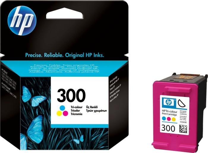 HP 300 Druckkopf mit Tinte farbig (CC643EE)