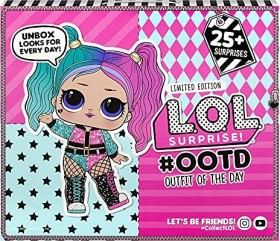 MGA Entertainment L.O.L. Surprise! Surprise Outfit of the day Advent Calendar 2020