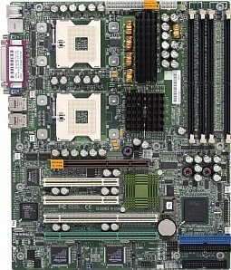 Supermicro X5DAL-TG2, iE7505 (dual PC-2100 DDR)