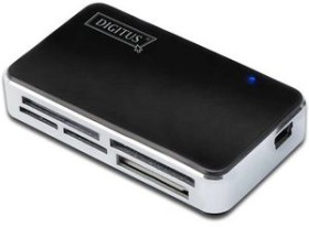 Digitus All-in-one Multi-Slot-Cardreader, USB 2.0 Mini-B [Buchse] (DA-70322)