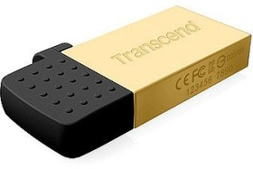 Transcend JetFlash 380 gold 32GB, USB-A 2.0/USB 2.0 Micro-B (TS32GJF380G)