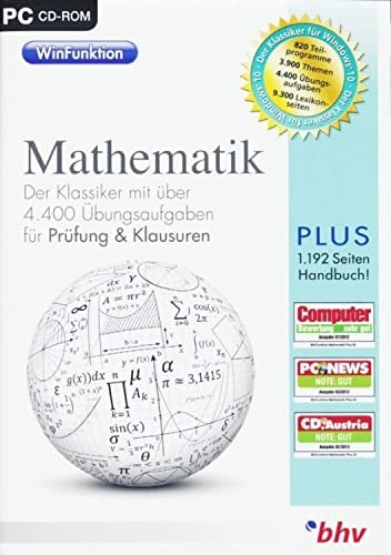 bhv WinFunktion Mathematik Klausuren (deutsch) (PC)