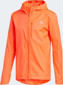 adidas Own The Run Hooded Laufjacke solar red (Herren) (FM6926)