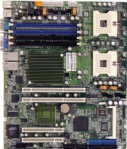 Supermicro X5DPA-GG, iE7501 (dual PC-2100 reg ECC DDR)