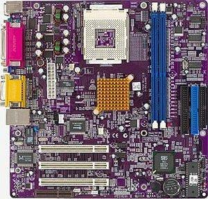 Elitegroup ECS-K7SOM, SiS740, VGA, LAN, µATX (SDR/DDR)