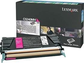 Lexmark Return Toner C5240MH magenta
