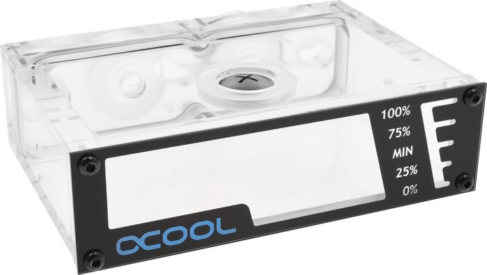 "Alphacool Repack Dual DC LT 5.25"" Single Bay station (45169/15166)"