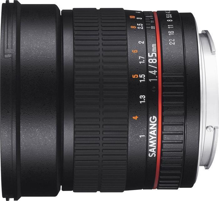 Samyang 85mm 1.4 Asph IF UMC für Fujifilm X schwarz (1111210101)