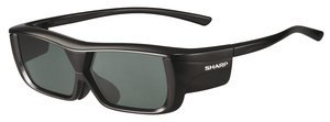 Sharp AN-3DG20 B 3D-glasses black