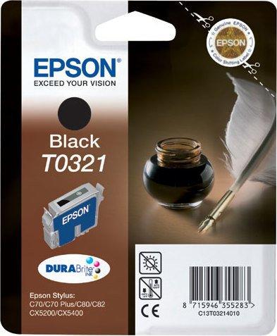 Epson T0321 Tinte schwarz (C13T03214010)