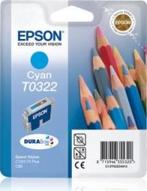 Epson Tinte T0322 cyan (C13T03224010)