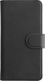 Pedea Book Cover Echtleder Premium für Apple iPhone 11 Pro Max schwarz (50160835)