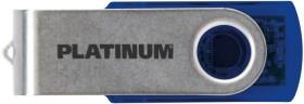 BestMedia Platinum Twister transparent blau 128GB, USB-A 3.0 (177696)