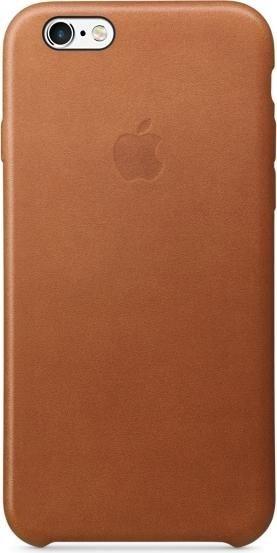 Apple Leder Case für iPhone 6s sattelbraun (MKXT2ZM/A)