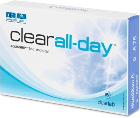 Clearlab clear all-day, -0.75 Dioptrien, 6er-Pack