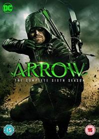 Arrow Season 6 (DVD) (UK)