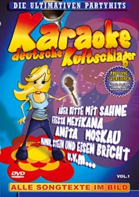 Karaoke: Deutsche Kultschlager Vol. 1 (DVD)