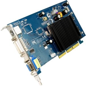 PNY Verto GeForce 6200,  512MB DDR2, VGA, DVI, TV-out (G606200A8E49T)