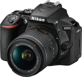 Nikon D5600 schwarz mit Objektiv Fremdhersteller