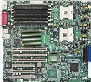 Supermicro X5DPL-iGM, iE7501 (dual PC-2100 reg ECC DDR)