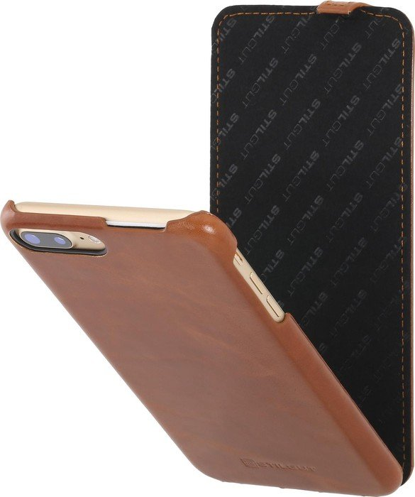 stilgut ultraslim f r apple iphone 7 plus cognac braun. Black Bedroom Furniture Sets. Home Design Ideas