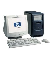 HP P5891A Vectra XE310, P3-1000, 128MB RAM, 20GB HDD, CD-ROM, LAN, Win98
