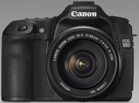 Canon EOS 50D schwarz mit Speedlite 580EX II Blitzgerät (2807B040)