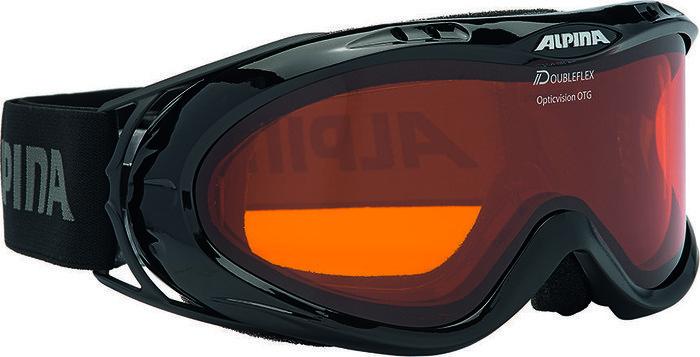 Alpina Ski Opticvision, Schwarz Doubleflex Hicon