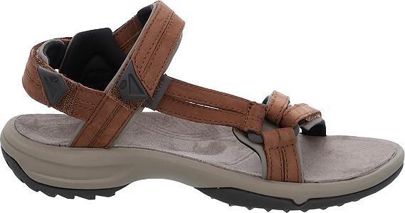 Teva Terra FI Lite Leather Braun, Damen Sandale, Größe EU 39 - Farbe Brown Damen Sandale, Brown, Größe 39 - Braun