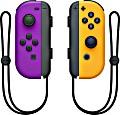 Nintendo Joy-Con Controller neon lila/neon orange, 2 Stück (Switch)