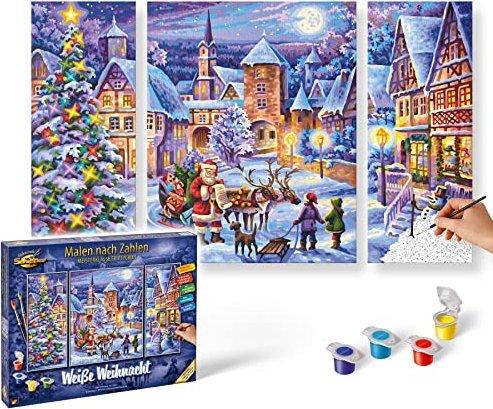 2019 Weiße Weihnachten.Schipper Arts Crafts Malen Nach Zahlen Weiße Weihnacht 609260730