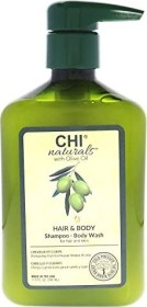 CHI Haircare Naturals Olive Oil Hair & Body Shampoo, 340ml