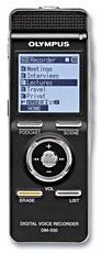 Olympus DM-550 digital voice recorder Conference-Kit (E0455025)