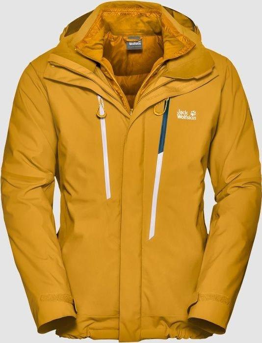 newest 98569 f413f Jack Wolfskin Exolight 3in1 Skijacke golden yellow (Herren ...