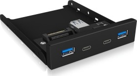 RaidSonic Icy Box IB-HUB1416-i3 USB-Hub, 2x USB-C 3.0, 2x USB-A 3.0, USB-A 3.0 [Buchse] (60431)