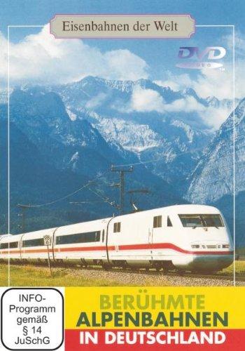 Berühmte Alpenbahnen in Deutschland -- via Amazon Partnerprogramm
