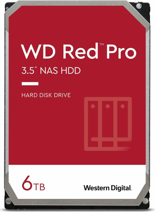 "Western Digital WD Red Pro 6TB, 3.5"", SATA 6Gb/s (WD6001FFWX)"