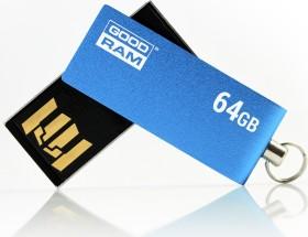 Goodram UCU2 blau 64GB, USB-A 2.0 (UCU2-0640B0R11)