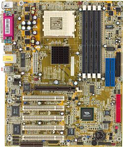 DFI AD77, KT400 (PC-2700 DDR)