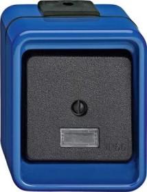 Merten Schlagfest Wippschalter, blau (370775)