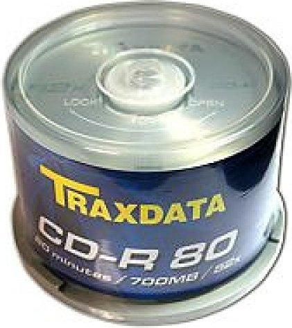 Traxdata CD-R 80min/700MB, sztuk 50 -- via Amazon Partnerprogramm